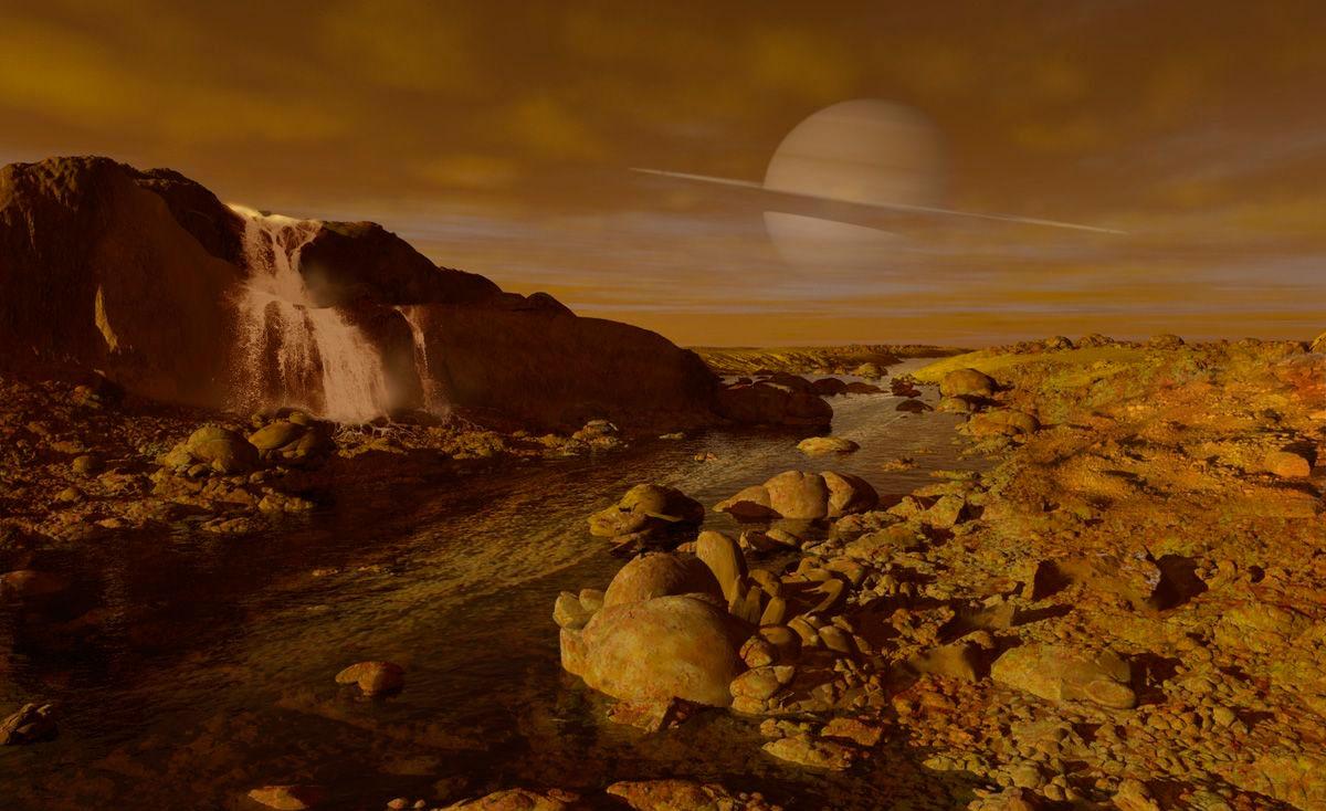Поверхность Титана очень напоминает земную. Если не брать в расчет запредельный холод и отсутствие кислорода