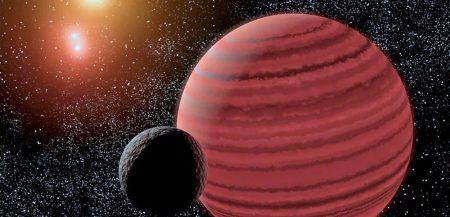 Может ли коричневый карлик сформировать планетнyю систему?