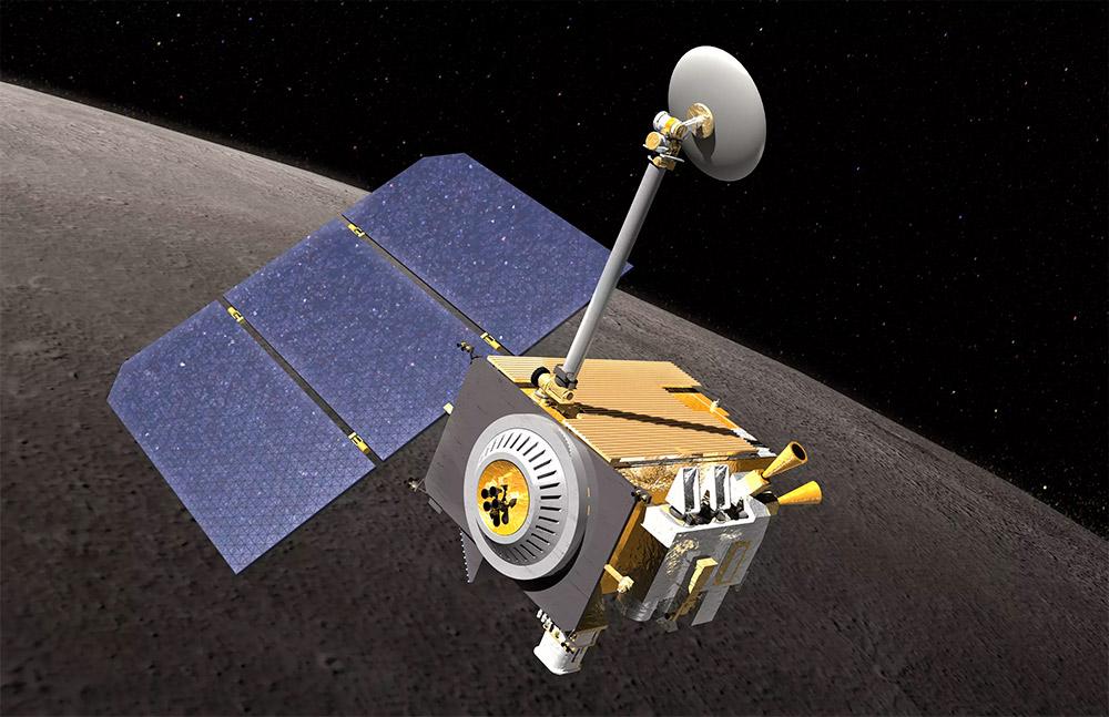Вода на Луне найдена LRO