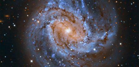 «Южная вертушка»: спиральная галактика M83