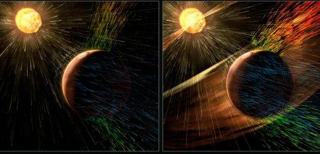 Марс теряет остатки атмосферы
