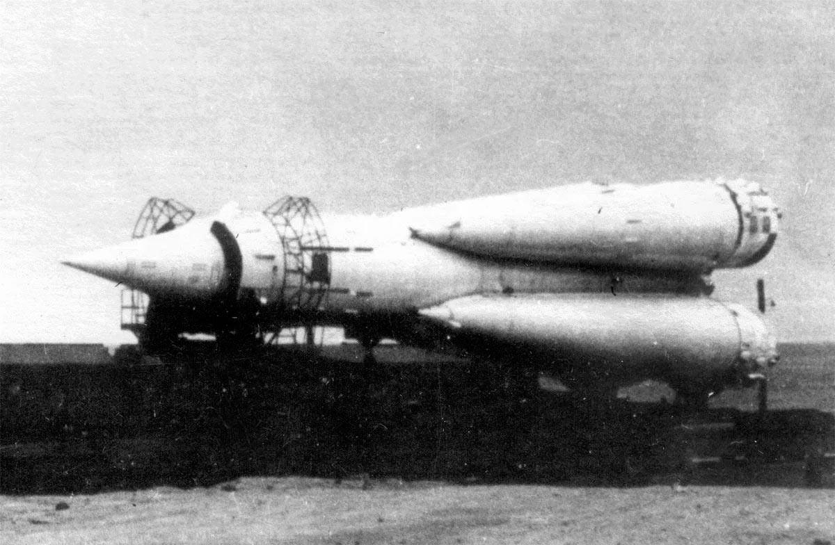 Баллистическая межконтинентальная ракета Р-7 Сергея Королёва