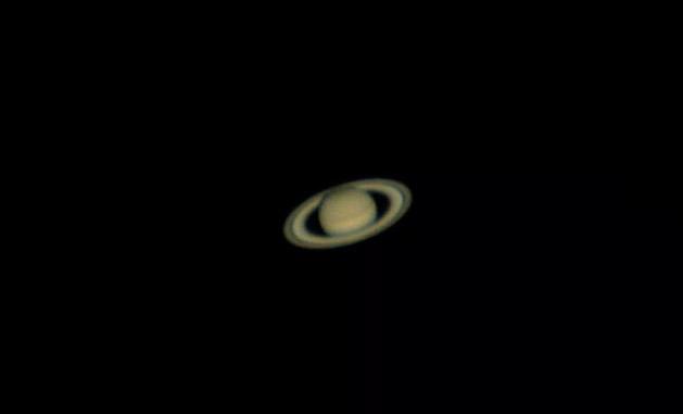 Кольца Сатурна наблюдаемые в любительский телескоп