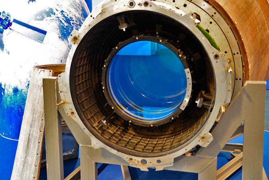 «Объектив» разведывательного спутника «Янтарь-2К»