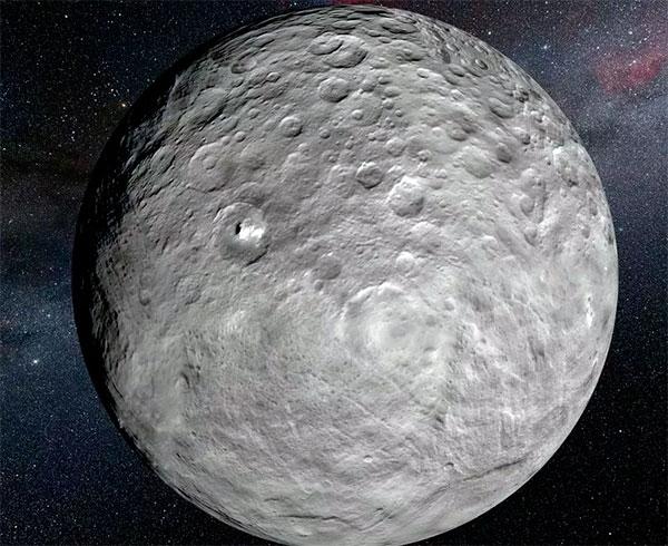 Церера - карликовая планета в поясе астероидов