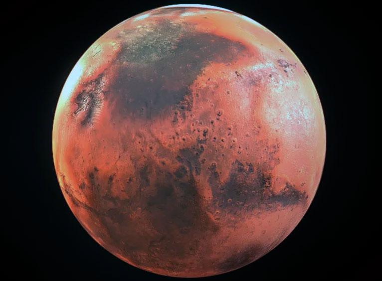 Планета Марс представляет собой хо планету-пустыню - правда, в отличие от Арракиса, очень холодную и поэтому необитаемую.