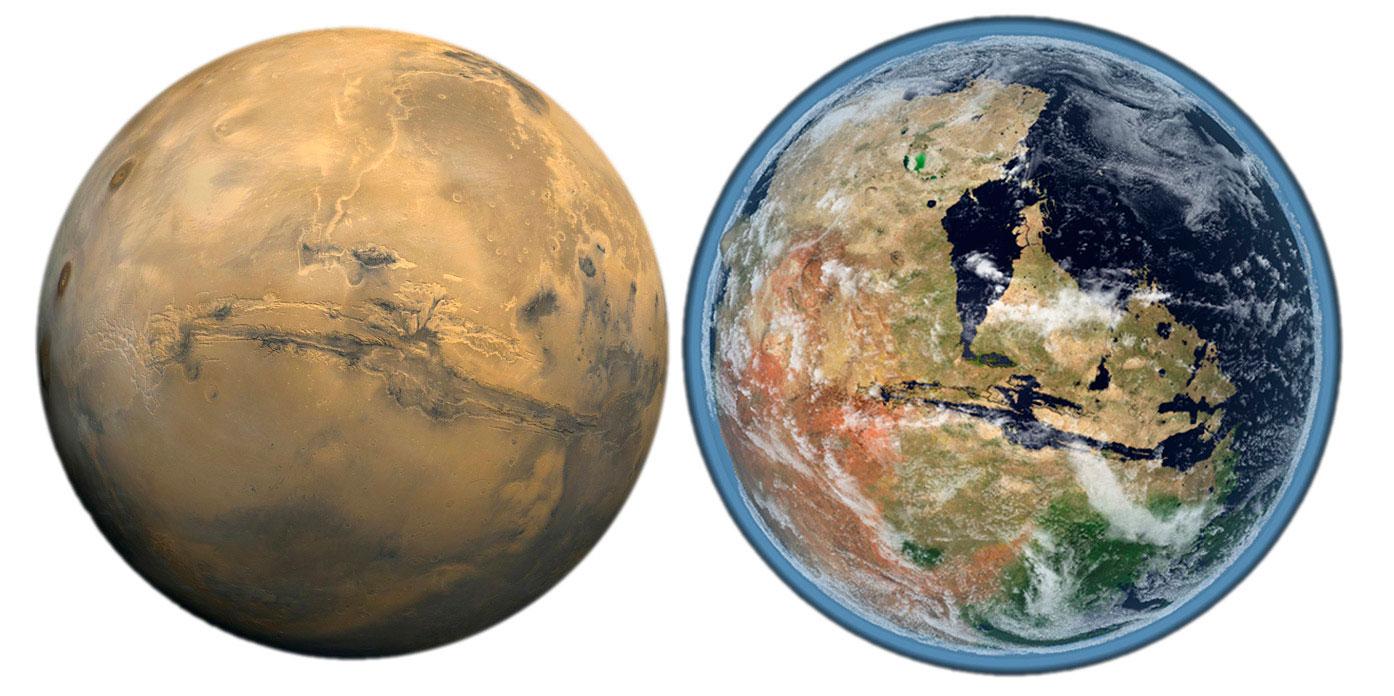 Были ли на Марсе океаны жидкой воды?