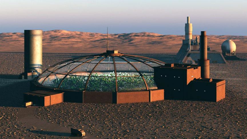 Паратерраформирование на Марсе