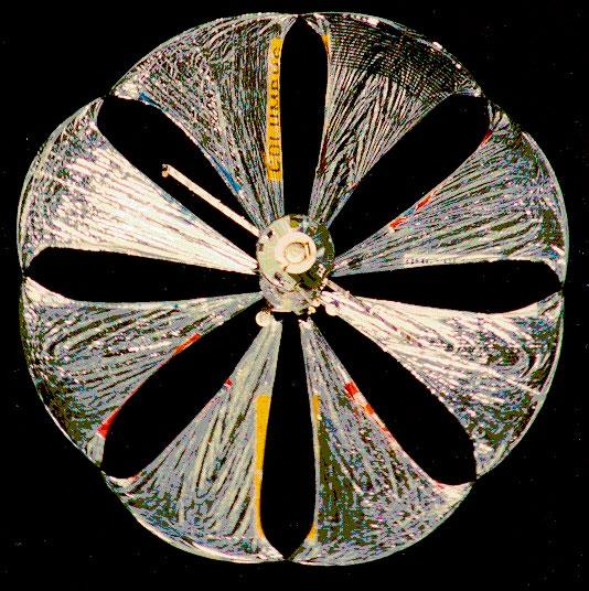 «Знамя-2» - солнечный парус, который осветил Землю