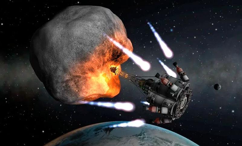 способы обезопасить землю от падения метеоритов