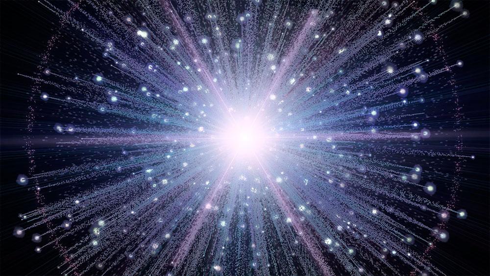 Большой взрыв и образование вселенной