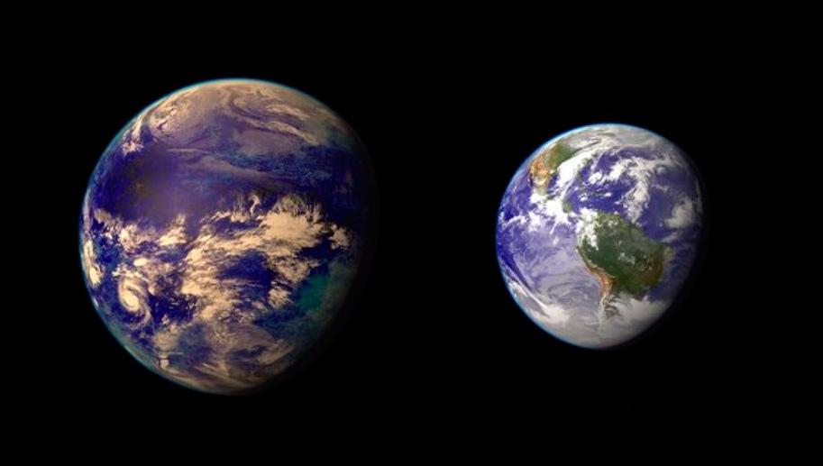 Обитаемые экзопланеты обнаруженные с Земли