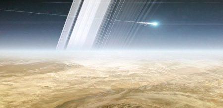 Какие ветры дуют в атмосфере Сатурна