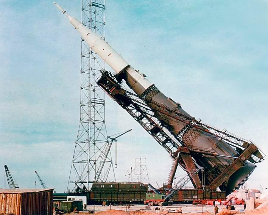 Ракета-носитель Н-1, именно с ней связывали надежду на предстоящие пилотируемые полеты к Луне и Марсу