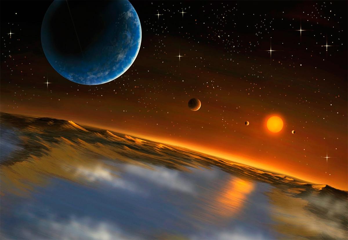 пригодный для жизни спутник экзопланеты