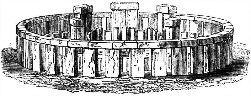 Реконструкция того, как выглядел Стоунхендж тысячи лет назад