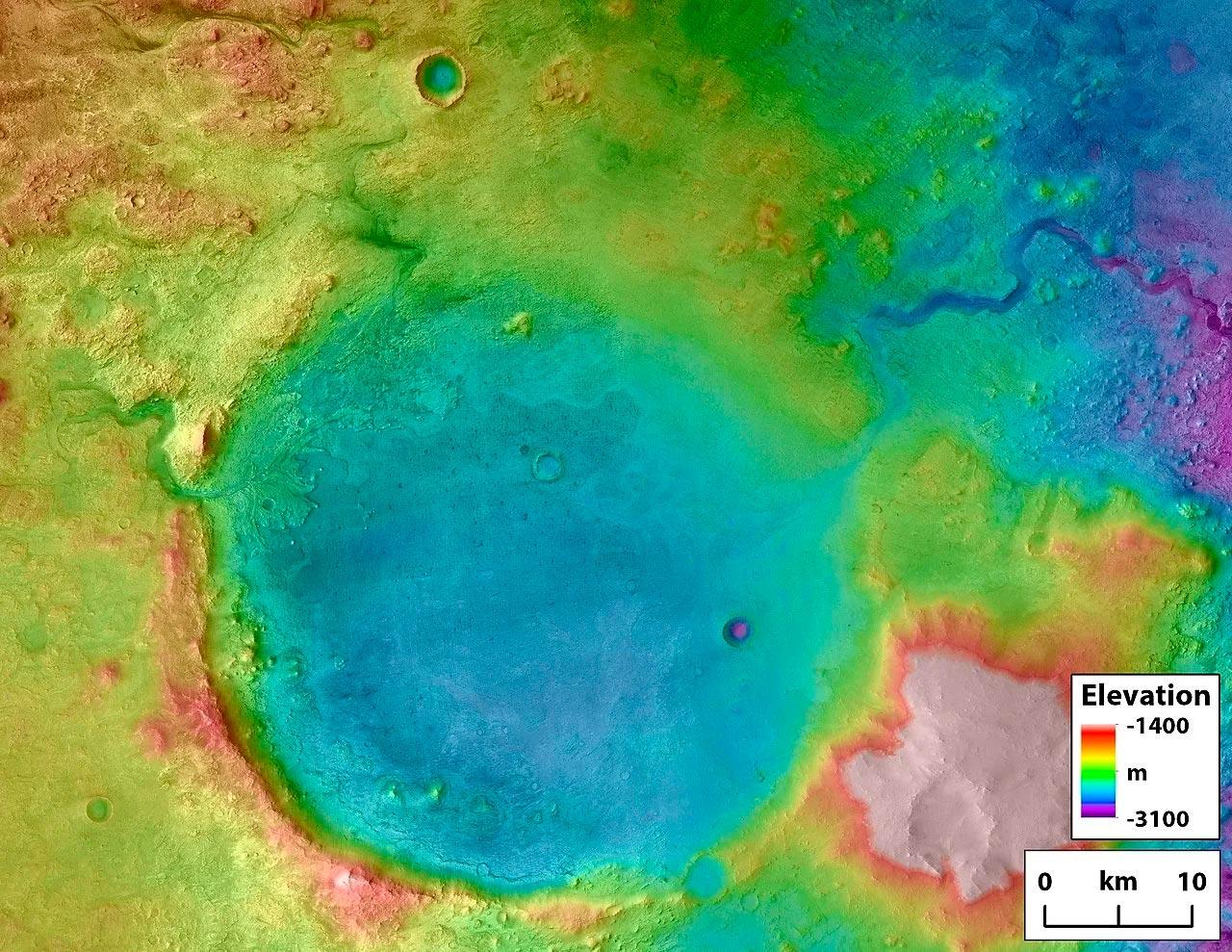 марсоход Perseverance и жизнь на марсе