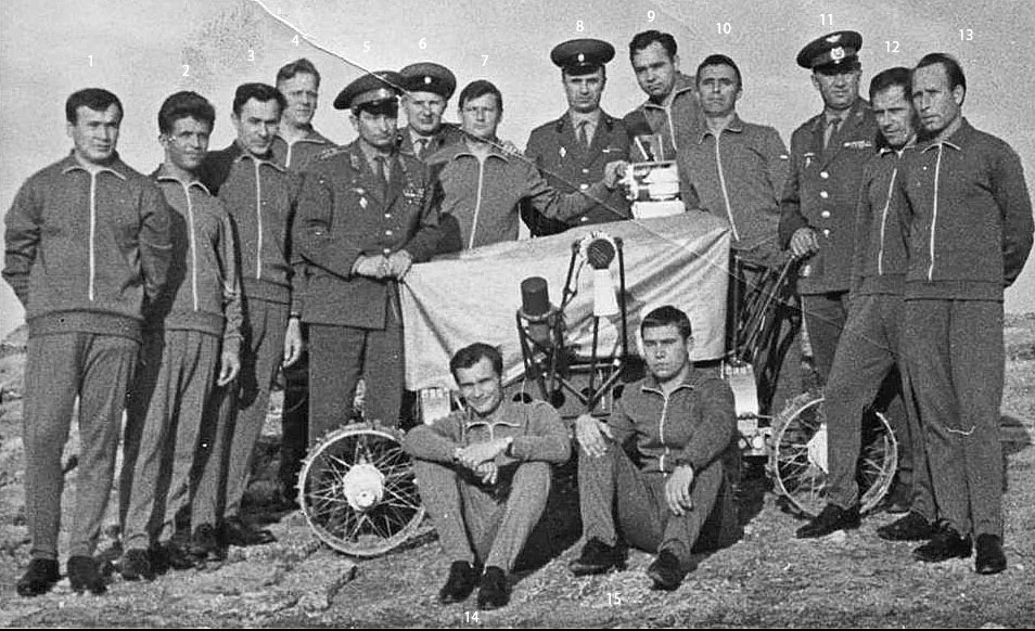 Экипаж Лунохода-1