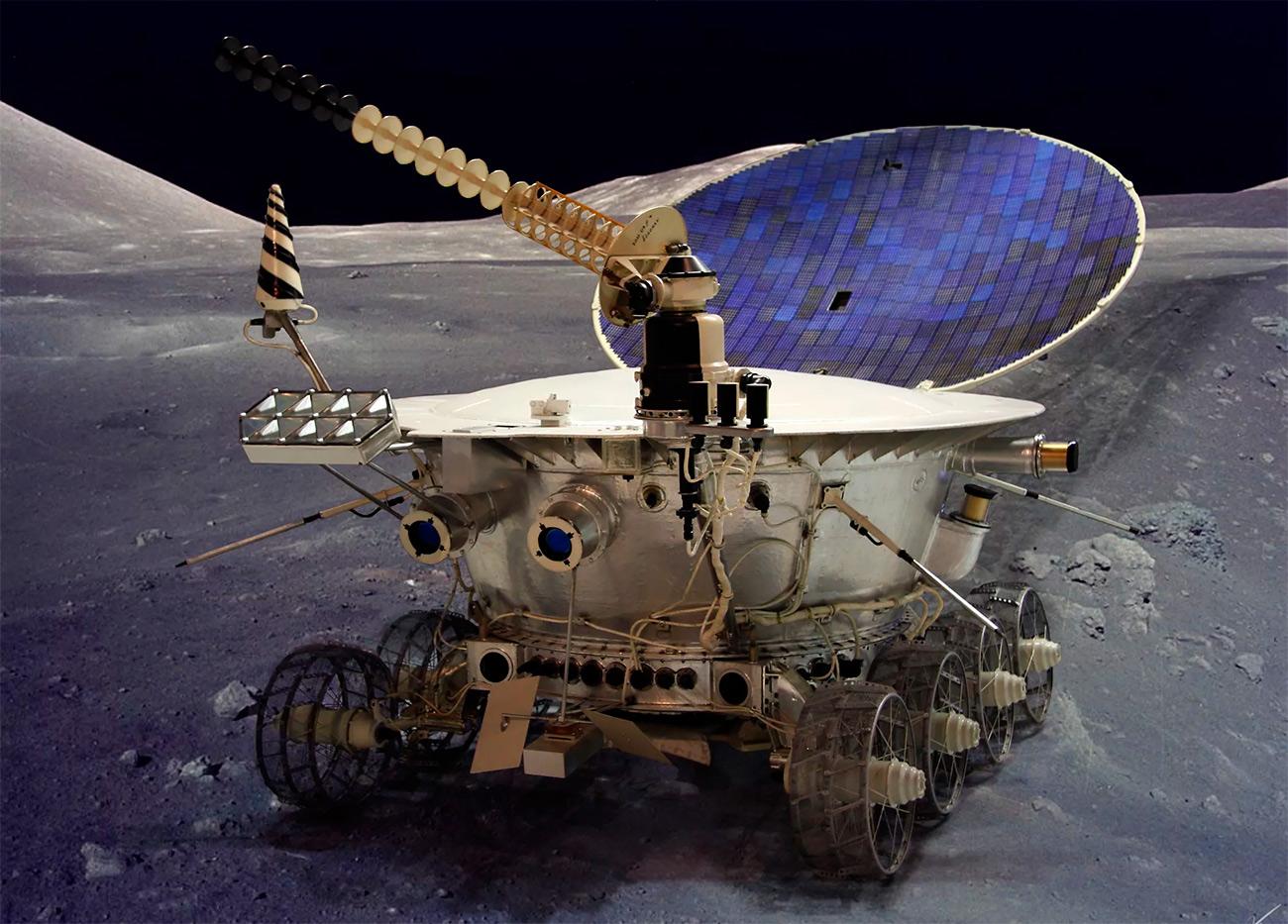 Луноход-1, как мы привыкли его видеть