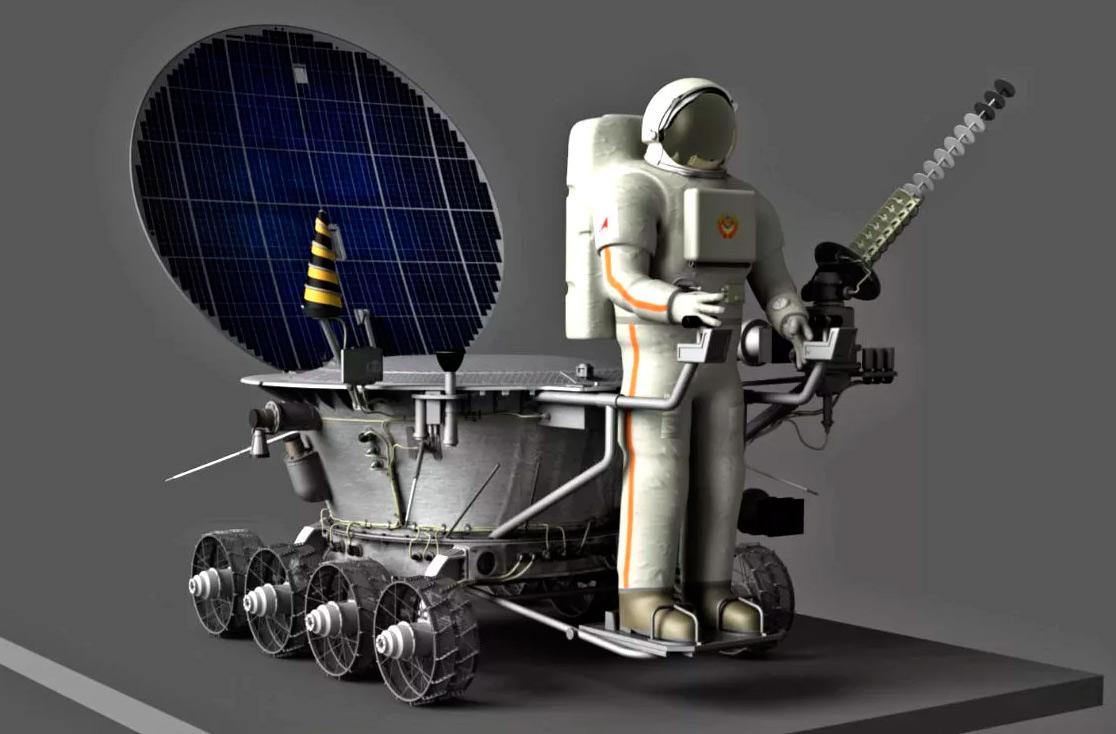 Предполагалось, что в будущем база луноходов будет приспособлена и как грузовая площадка для перевозке космонавтов по Луне