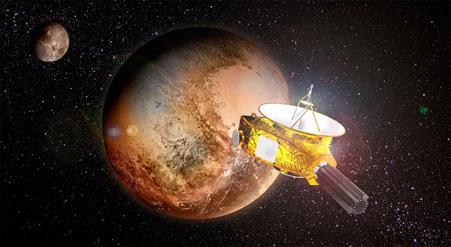 New Horizons определил что космос светлее, чем считалось