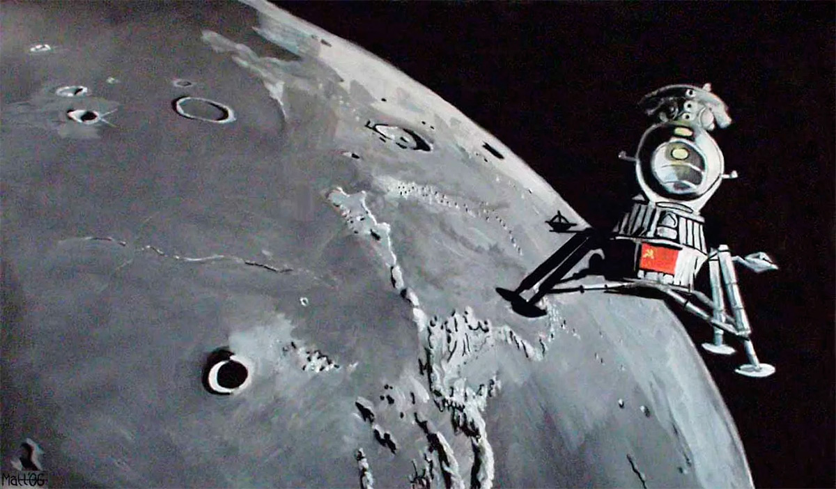 Первые советские автоматические космические станции на Луне