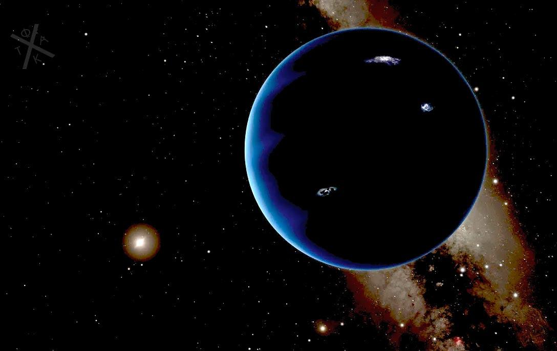блуждающая планета в Солнечной системе