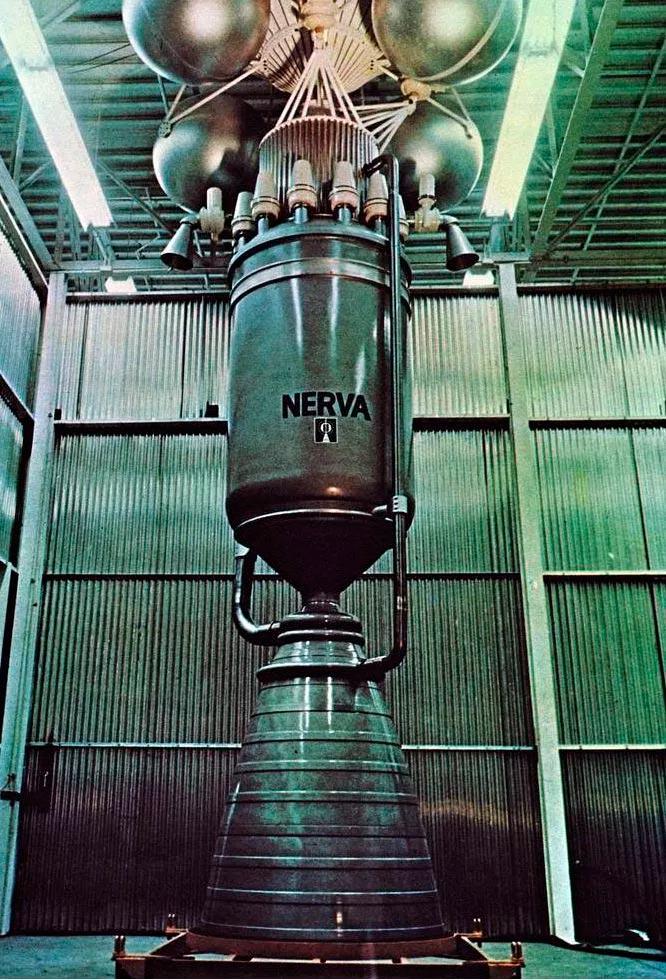 Американский ядерный двигатель проекта NERVA