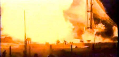 Топ-10 самых впечатляющих аварий космических кораблей