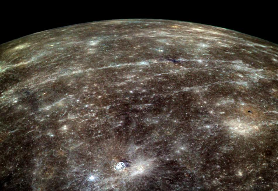 Какого цвета планета Меркурий