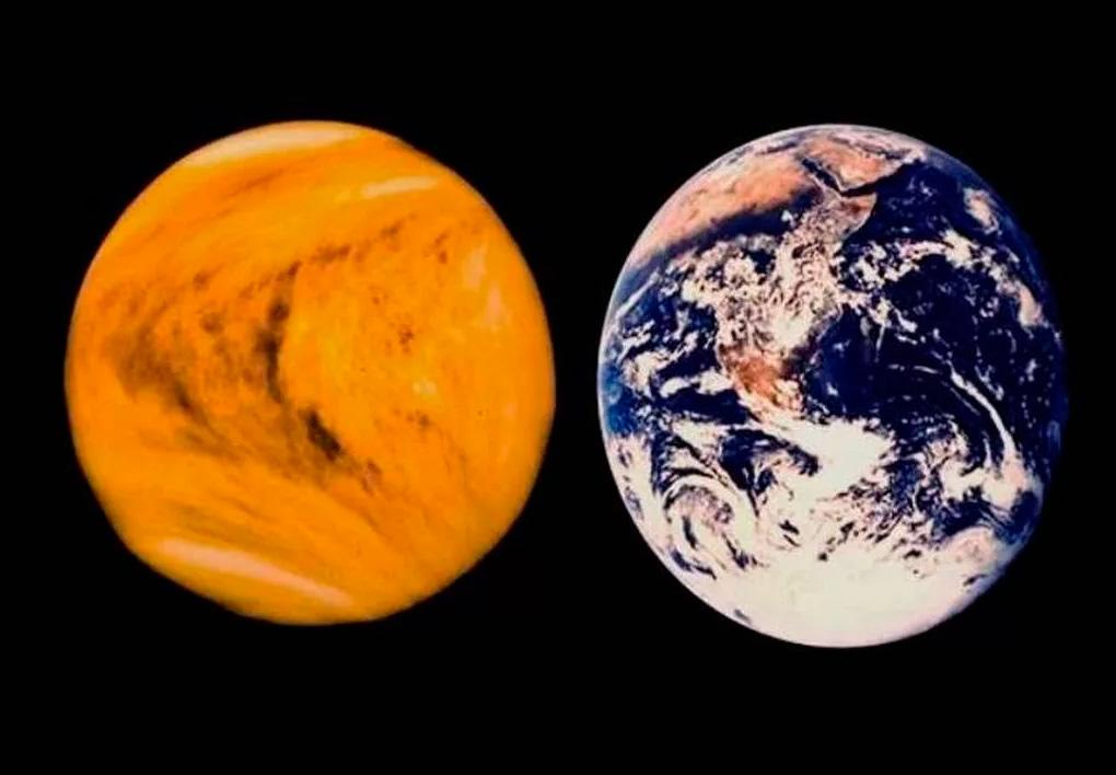 Похожа ли Венера на Землю