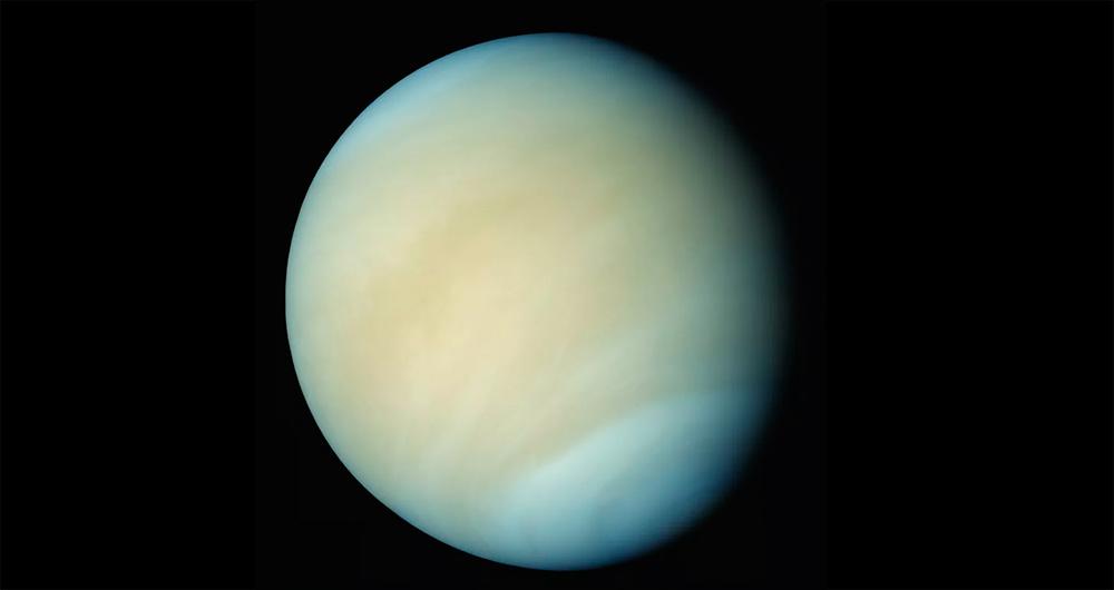 Какого цвета планета Венера