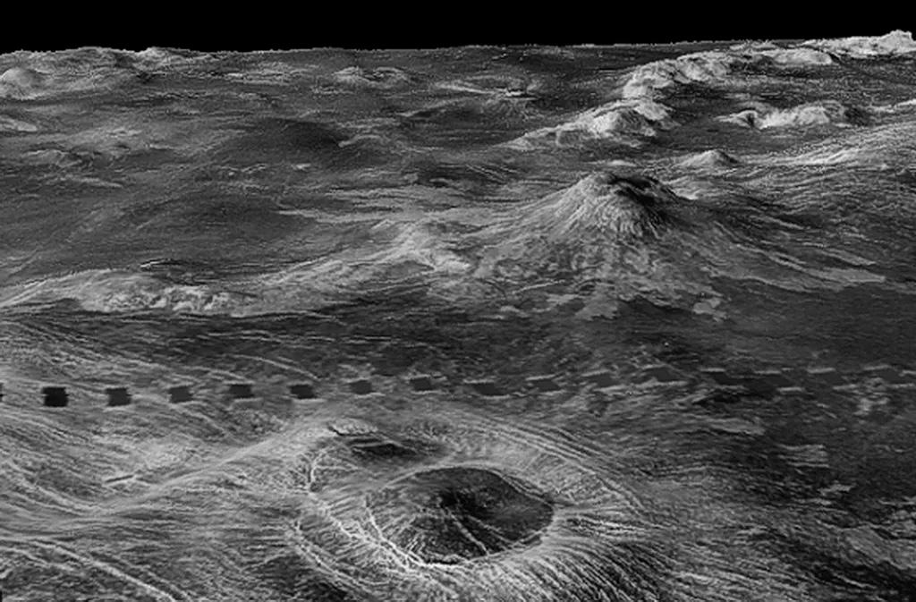 как выглядит Поверхность Венеры