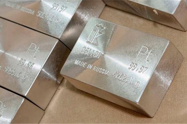 Металлы для оправы драгоценных камней, платина